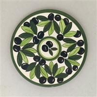 Palestinian Ceramic Plates (set of four plates) (9 inches)
