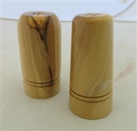 Olive Wood Salt & Pepper Shakers