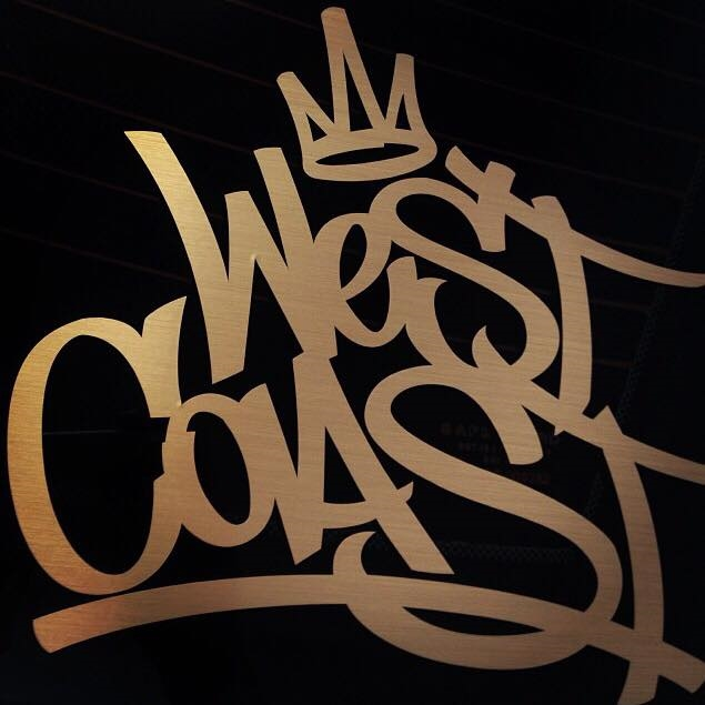 West Coast Fasteners Graffiti Logo Sticker