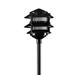 2030-BK | Evergren Three Tier Pagoda Light - 12 volt Black| USALight.com