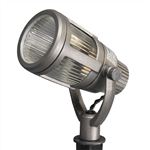 8418-2606-01 | Malibu LED Gun Metal Gray Contemporary Flood Light | USALight.com
