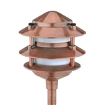 8421-2200-01 | Malibu Low Voltage Real Copper LED 3 Tier Light | USALight.com