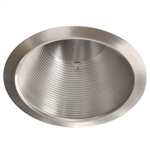 "AF637SN-SN | 6"" Air Tight Recessed Baffle Trim - R/PAR30 - Satin 
