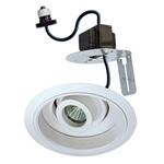 "B2601W | 6"" Retrofit Gimbal Ring Trim and Transformer 