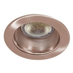 "B530BZ-BZ | 5"" Air Tight Stepped Baffle Trim - Bronze 