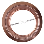 "B640CP-CP | 6"" Stepped Baffle Trim - PAR38/R40 - Copper 