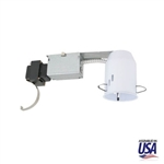 "US-R-EC330 | 3"" Low Voltage Non-IC Remodel Recessed Housing w/ Magnetic Transformer 