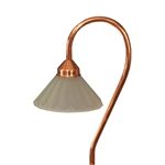 CS404C | Malibu Canterbury Path Light - Copper | USALight.com