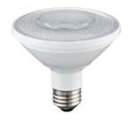 LED12P30S27KFL | TCP Brand LED 12W Smooth PAR30 Short Neck - 2700K - NON-DIMMABLE | USALight.com
