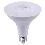 LED14P38D27KFL | TCP Brand LED 14W Smooth PAR38 - 2700K - DIMMABLE | USALight.com