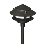 US-140BK | Maui Two Tier Pagoda Light - 12 volt Black | USALight.com