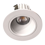 "US-LM203W-40 Dimmable 2"" Recessed LED Downlight - 9 Watt - 4000K - Baffle"