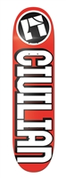 "CIVILIAN DECK - LOGO ""ICON"" (RED)"