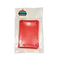 "BIG TOP - RISER PAD - 1/8"" SOFT (RED)"
