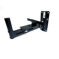 ( 2 ) Heavy Duty Swivel Wall Bracket for Powered or Non-Speakers
