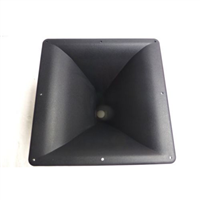 "11"" x 11"" Square 1 3/8"" Screw -On Horn For Many 1 3/8"" Driver"