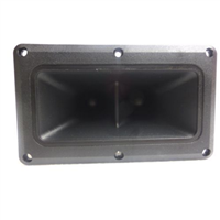 "Replacement For Motorola KSN-1177 Dual High Frequency Horn Tweeter 3.75"" x 6.375"