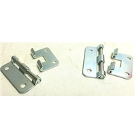 (2) Two Take Apart Hinges or Lift Off Hinges