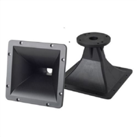 "9"" x 9"" Square 1.5"" Bolt-On Horn For Assorted 1.5"" or 1.4"" Exit Drivers"
