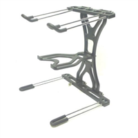 LASE LS 500 Aluminum Folding DJ Laptop Stand & Tray