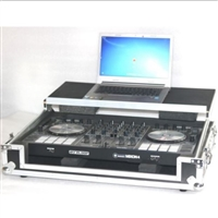 LASE ATA Flight Case for SERATO RELOOP MIXON 4 with Glide & Wheels