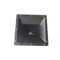 "11"" x 11"" Square 1"" Bolt-On Horn For One Inch Exit Drivers"