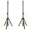 (2) Two DJ / PA Metal Tripod Stands For Powered or Passive Speakers