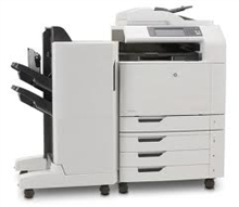 HP Color CM6040F MFP Q3939A Printer With FInisher