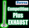 "F1151P 1.650"" X 5.060"" Exhaust Ferrea Competition Plus Valves Fits: SB Chevy, BB Ford 429-460, & Cleveland 5/16"""
