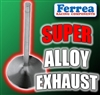 "F1134P 1.650"" X 5.010"" Exhaust Ferrea Competition Plus Valves Fits: SB Chevy, BB Ford 429-460, & Cleveland 5/16"""