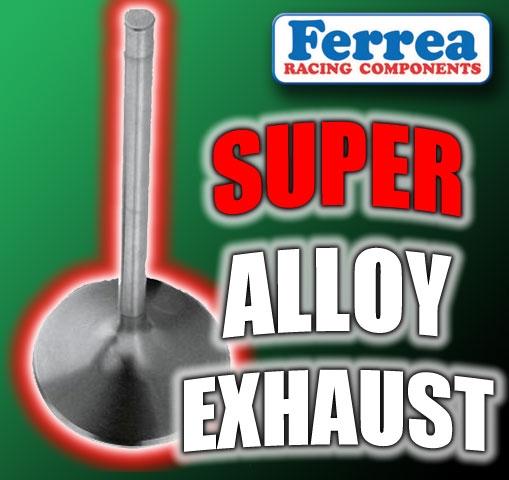 F1849P 29 5mm X 103 65mm Exhaust Ferrea Super Alloy Valves Fits: NISSAN  3 0L VG30 / DTT 24V