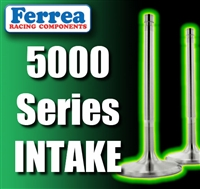 "F5002 2.020"" X 4.910"" Intake Ferrea 5000 Series Hi Performance Valves Fits: SB Chevy 11/32"""