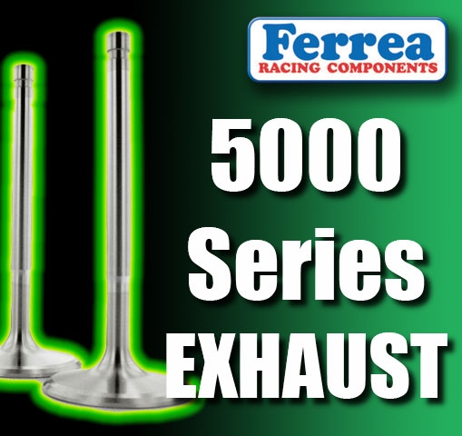 Ferrea Competition Plus Exhaust Valves Chevy Small Block 11//32 F1128PQ