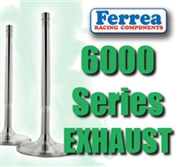"F6237 1.500"" X 4.735"" Exhaust Ferrea 6000 Series Competition Valves Fits: Buick V6 231 11/32"""