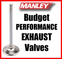 "10549-1  1.600"" X 4.911"" Exhaust Manley Budget Performance Valves Fits: SB Chevy & SB Ford 11/32"""