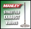 "10723-1  1.465"" X 5.080"" Exhaust Manley Street Flo Valves Fits: SB Ford Windsor 11/32"""