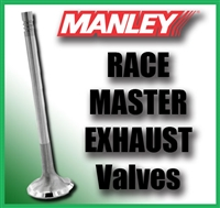 "11307-1  1.740"" X 5.010"" Exhaust Manley Race Master Valves Fits: BB Chrysler 3/8"""