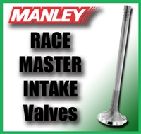 "11308-1  2.080"" X 5.000"" Intake Manley Race Master Valves Fits: BB Chrysler 3/8"""