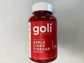 Goli Apple Cider Vinegar 60 Gummies