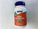 Now Zinc Picolinate 50 mg 60 Veg Capsules