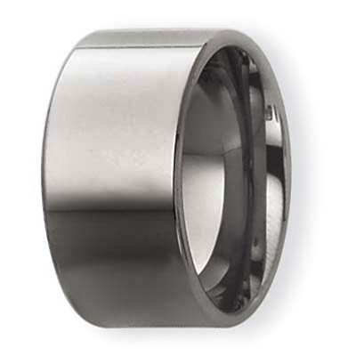 10mm Flat Wedding Ring