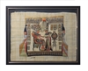 Tutankhamun and Ankhesenamun Framed Papyrus #41