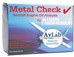 <b>GA-001-SP</b><br>Metal Check Oil Analysis Test Kit  - (COST OF SHIPPING TO THE LAB INCLUDED)