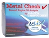 <b>GA-001-SP-40</b><br>Metal Check Oil Analysis Test Kit  - 40 Pack (COST OF SHIPPING TO THE LAB INCLUDED)
