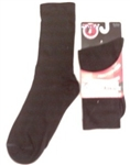 Wright Double Layer Black Crew Anti-Blister Sock