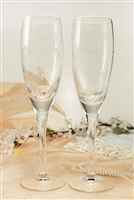Crystal Wedding Champagne Toasting Glasses Champagne Flutes Engrav