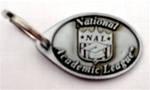 NAL Keychain Pewter