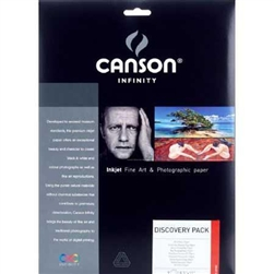 "CANSON DISCOVERY PACK 8.5X11"" (14 SHEETS)"