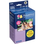 "EPSON PICTUREMATE 200 GLOSSY PRINT PACK, INK AND PAPER (4X6"")"