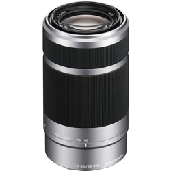 Sony E 55-210mm f/4.5-6.3 OSS E-Mount Lens (Black)